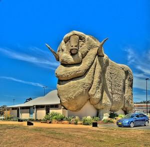 The Big Merino, Goulburn, NSW